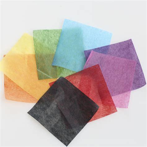 square craft paper assorted precut tissue paper squares paper mache basic