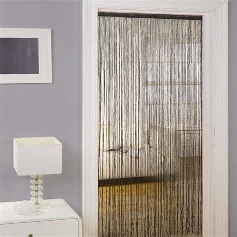 door curtains barclay lifestyle seville string door curtain panel