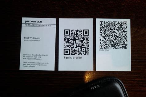 how to make a qr code business card 1800businesscards 40 qr code business cards