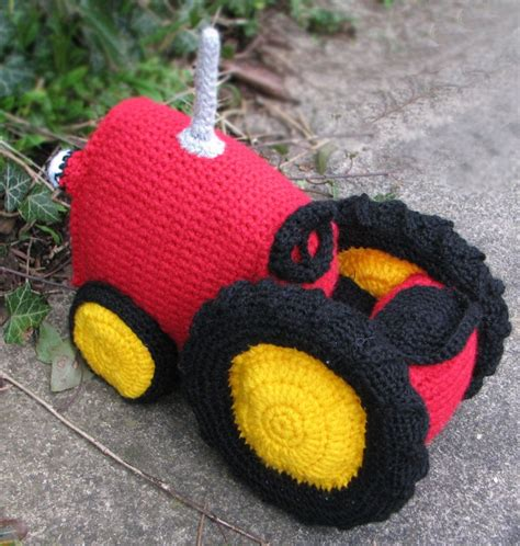 free tractor knitting pattern 17 best images about crochet toys on free