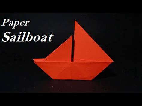 origami sailboat that floats origami sailboat how to make a simple origami sailboat