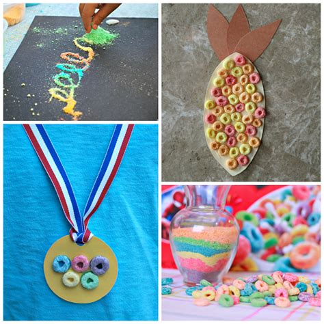cereal crafts for fantastic crafts using cereal crafty morning