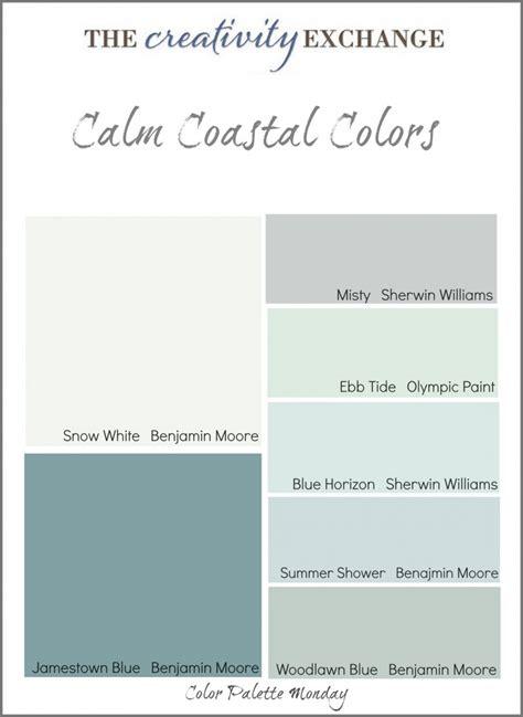 paint colors for a coastal bedroom coastal paint colors on coastal color palettes