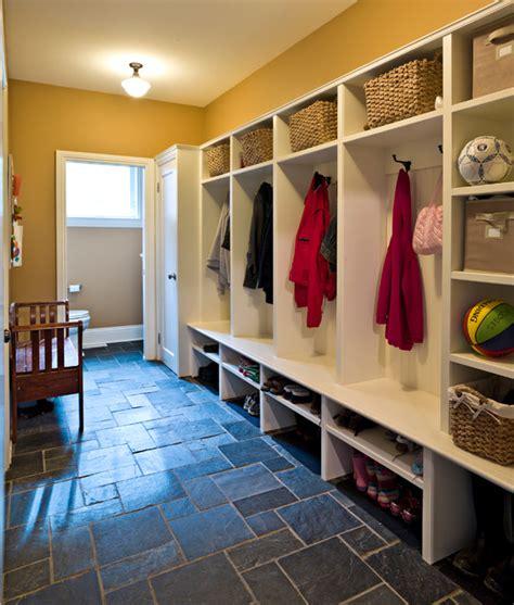 Garage Floor Design mudroom with slate floor traditional entry ottawa