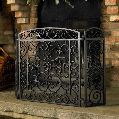 decorative fireplace ideas wrought iron fireplace screens decorative 28 images