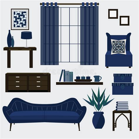 living room furniture accessories living room furniture and accessories in color navy blue