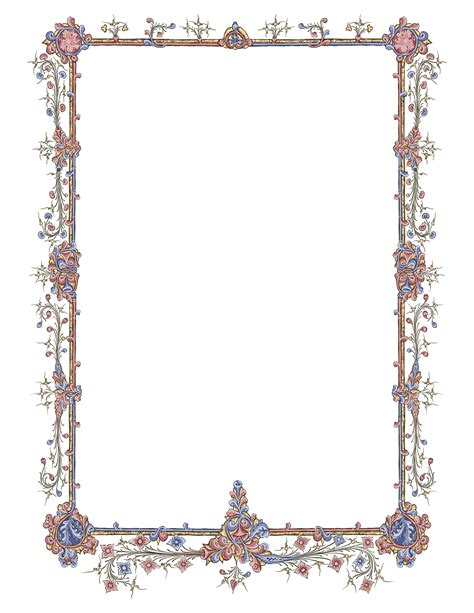 frame decorations book frame for page decoration lapulia studio bookbinding