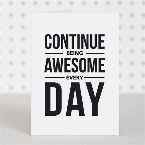 how to make a awesome card be awesome birthday card by doodlelove