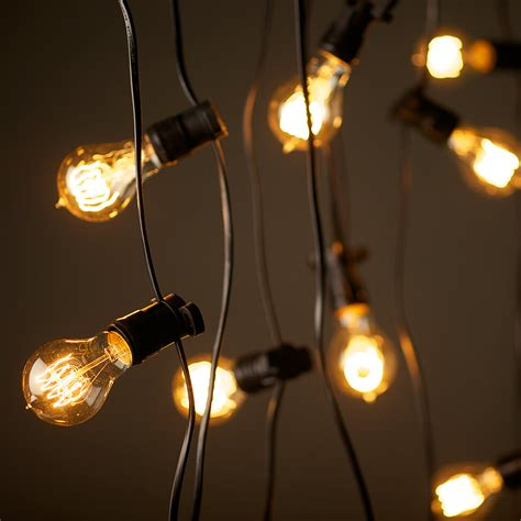 edison lights string patio string lights car interior design