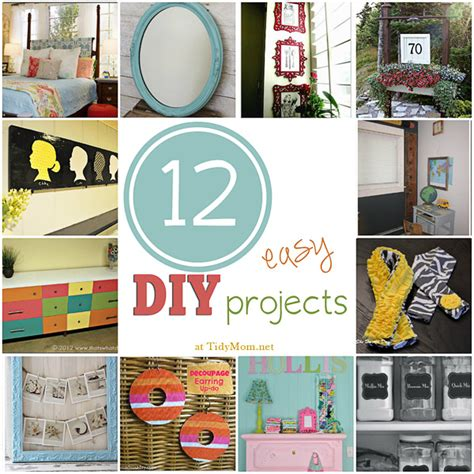 diy crafts projects 12 easy diy projects