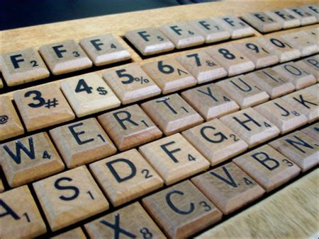 eh in scrabble wood is a scrabble keyboard geekologie