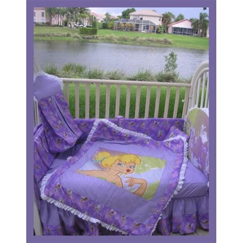 tinkerbell crib bedding set