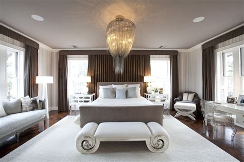 bedroom with chandelier 20 master bedroom designs with chandeliers