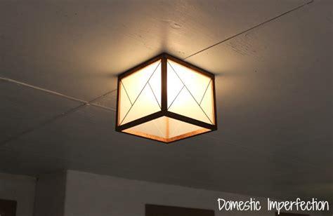 diy light diy mixed material light fixture domestic imperfection