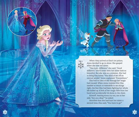 frozen picture book disney frozen player storybook book by disney