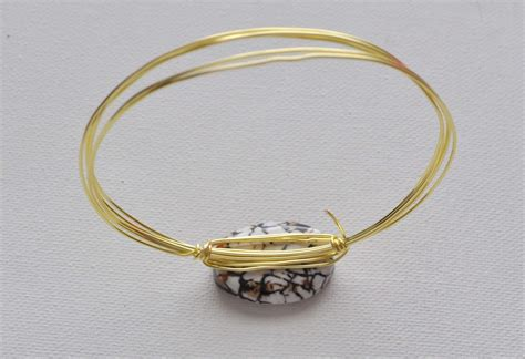 how to make a bracelet with and wire wire wrapped bangle bracelets made in a day