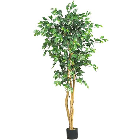 artificial trees 5 foot ficus tree potted 5208 nearly