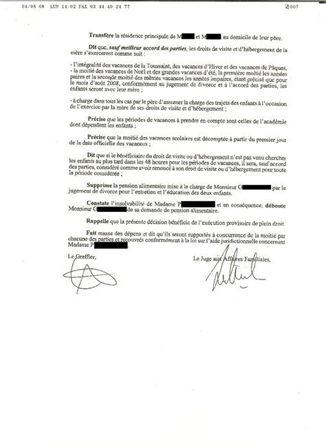 Modification Jugement Jaf by Egv Votre Ex Part Vivre Avec Les Enfants Tr 232 S Loin De
