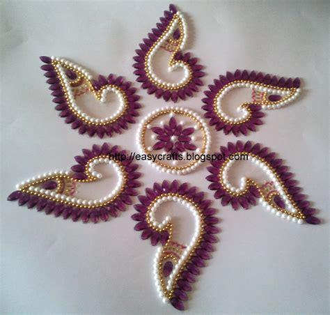 Ec Indian Handicrafts Customised Kundan Rangolis Shell