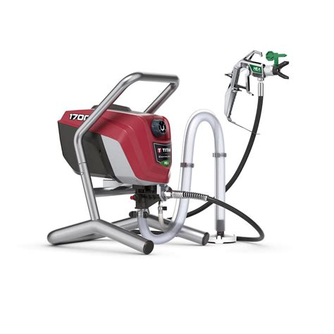 home depot titan paint sprayer titan controlmax 1700 high efficiency airless sprayer