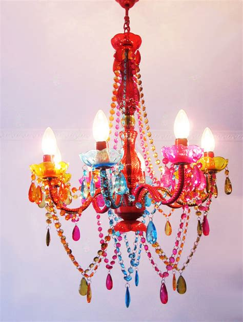 colourful chandelier modern colorful chandelier contemporary