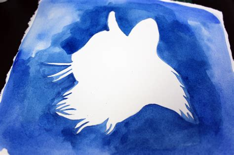 simple cat painting ideas painting silhouettes 2 tutorials 11 tips
