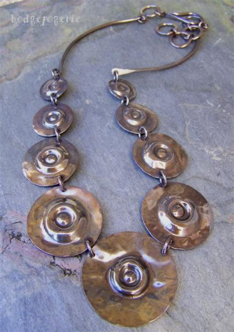 metal jewelry classes concentric circles workshop