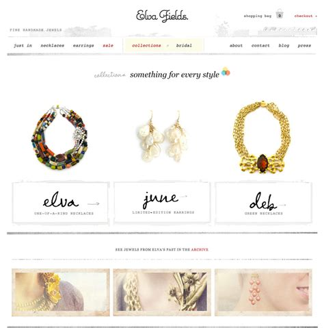 elegant e commerce jewelry stores using shopify