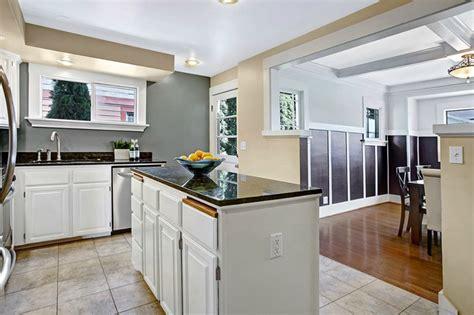 Black Kitchen Island With Granite Top 50 gorgeous kitchen designs with islands designing idea