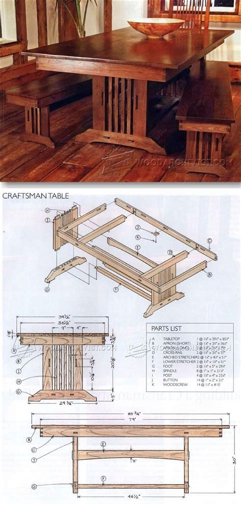 mission style woodworking plans best 25 craftsman style furniture ideas on