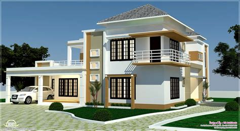 House Front Elevation Designs For Single Floor floor plan 3d views and interiors of 4 bedroom villa