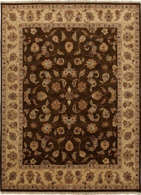 wool area rugs 4x6 knotted pattern wool brown area rug