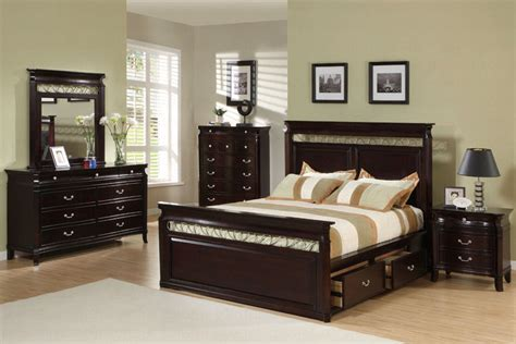 bed bedroom sets save big on the espresso customizable manhattan panel