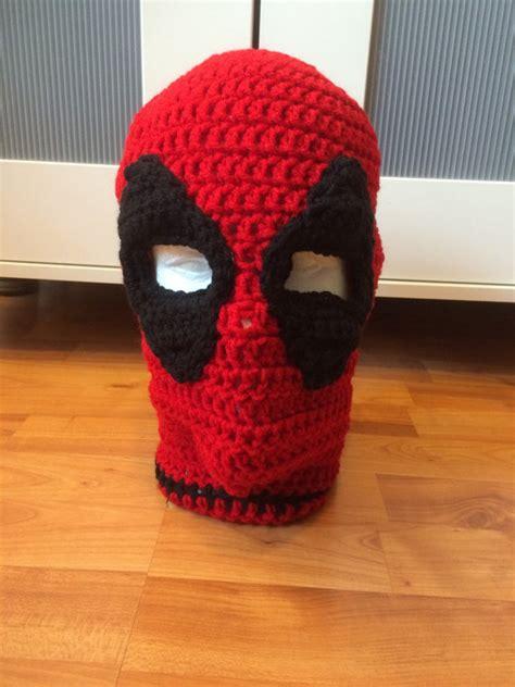 how to knit a mask crochet deadpool ski mask