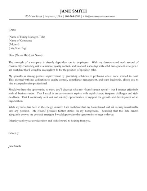 sample cover letters resume cv example template