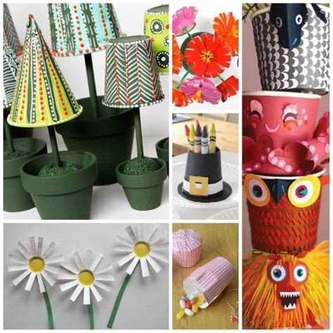 paper cup craft ideas and craft ideas with paper cups www pixshark