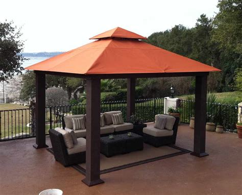 In Store Canopy by 10x12 Gazebo Replacement Canopy Target The Wooden Houses