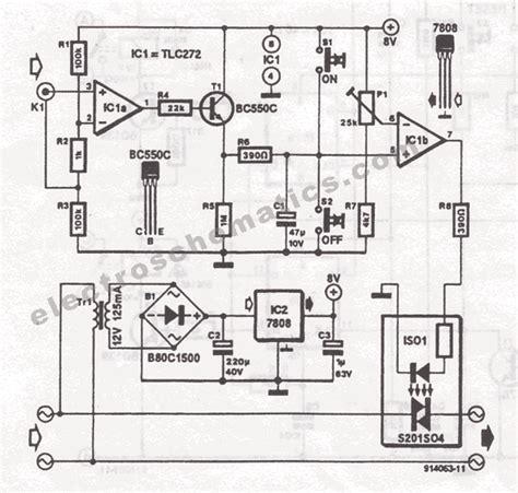 Motor Electric Rusesc by Tlc272 Circuits
