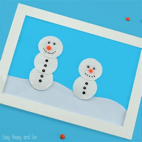snowman craft for snowmen creation station snowman craft easy peasy and