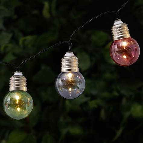 garden string lights wilko garden string lights 50 glass bulb at wilko