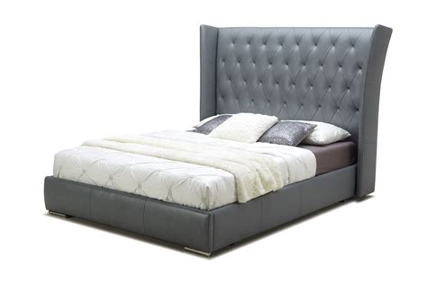 leather bed extravagant leather platform and headboard bed san antonio