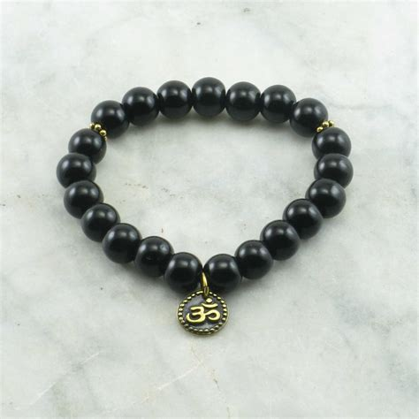 black bead bracelet meaning stamina mala bead bracelet 21 mala black onyx