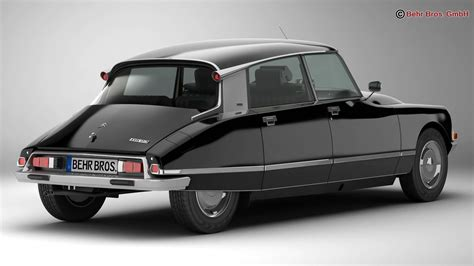 Citroen Us by Citroen Ds 23 Pallas 3d Model Buy Citroen Ds 23 Pallas