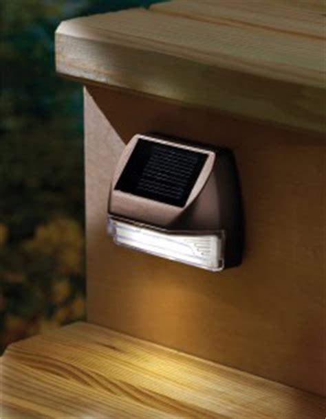 Solar Deck Lights For Steps by Solar Step Lights For Decks The Backyard