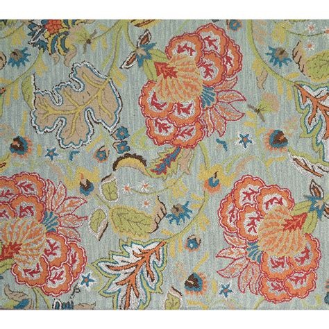 allen roth area rugs shop allen roth lendale multicolor normal rectangular