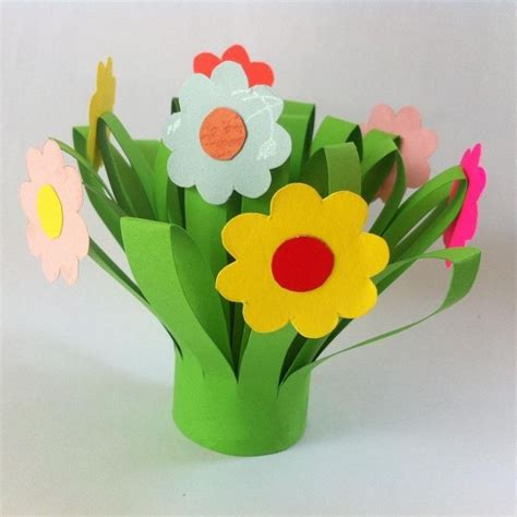 flower paper craft ideas paper craft flowers for site about children