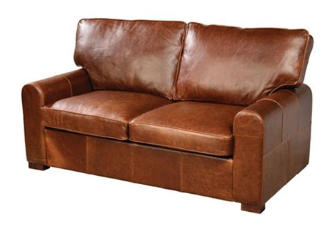 2 seater leather sofa quality oak furniture from