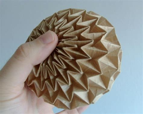 origami paper works 17 best images about sculptural spheres on