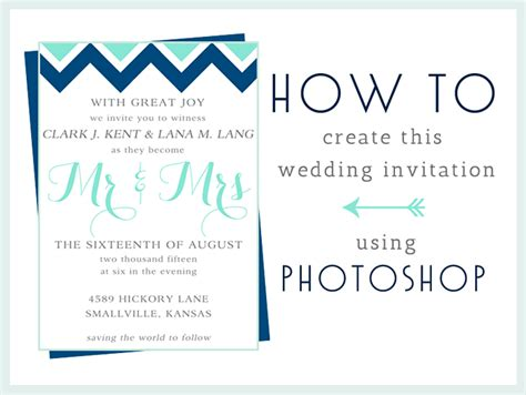 how to make invitations how to make this wedding invitation in photoshop
