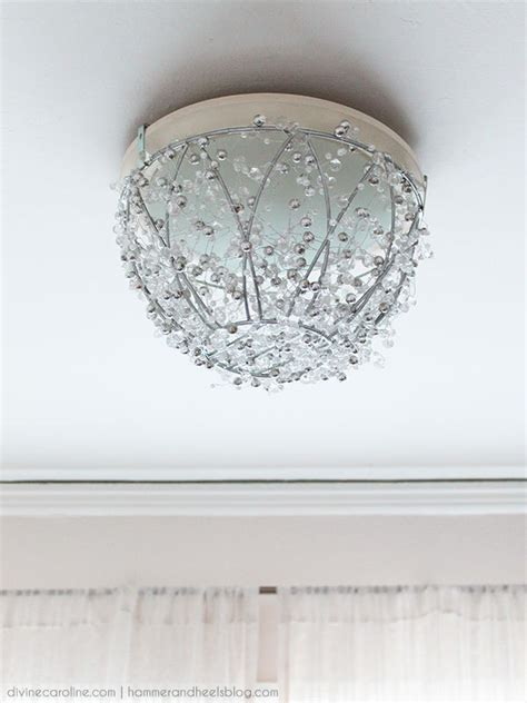 diy chandelier lights how to make a diy chandelier in an hour more
